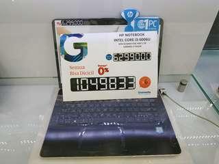 HP 14-bs011 Core I3 Bisa Dicicil PROMO BUNGA 0%