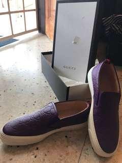 Gucci loafer purple size 38