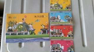 MTR南港島線地鐵纪念車票