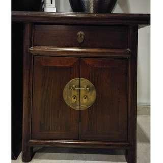 Antique-looking side tables