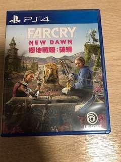 Far cry new dawn 極地戰嚎:破曉 ps4 連code