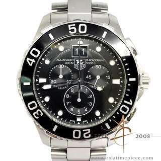 Tag Heuer Aquaracer Grande Date CAN1010 Chronograph Quartz (2013)
