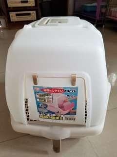(可交換)日本ISIR愛麗思全封閉式貓砂盆