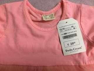 🚚 幼兒粉紅芭比芭蕾舞裙