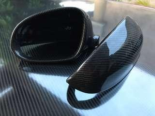Golf MK5 Carbon Fiber Side Mirror Cover