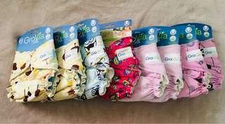 Grovia newborn cloth diapers