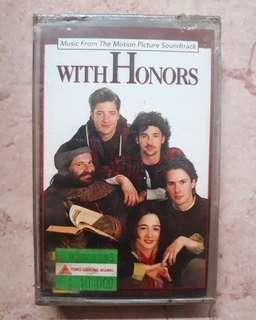 Kaset Pita OST - With Honors 📼 New/Sealed