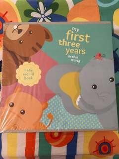 Baby Book photo album