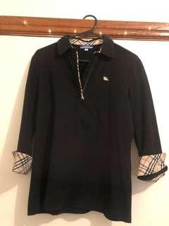 Burberry blue label women's polo