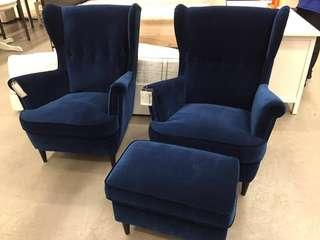 IKEA 75th Anniversary Wingchair BLUE