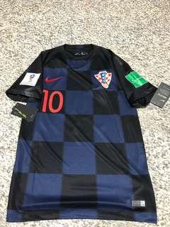 ddff4a904 BNWT  Croatia World Cup 2018 Away Jersey with  Modric  Nameset ...