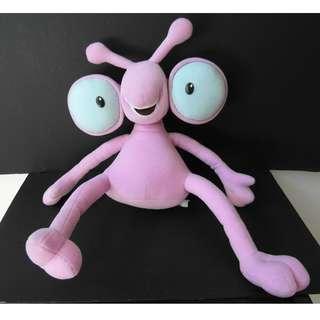 Purple Stuffed Toy