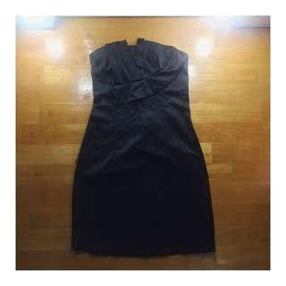 Tube black dress #MMAR18