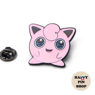 Jigglypuff Enamel Pin - Pokémon pins