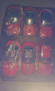 Sold-Complete Red series collection:1/18 BMW Z3 roadster, coupe, M roadster, M coupe,  Etc