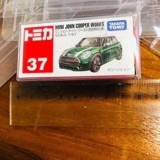 Tomica Red Regular Clear Box Protect Protector