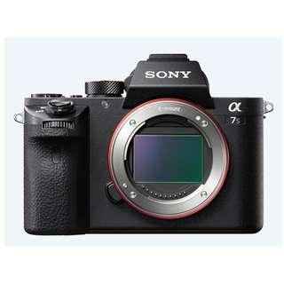 Sony α7S II E-mount Camera with Full-Frame Sensor (Body Only) - Includes Free 64GB card