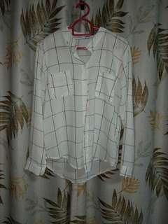 Preloved Grid Flannel