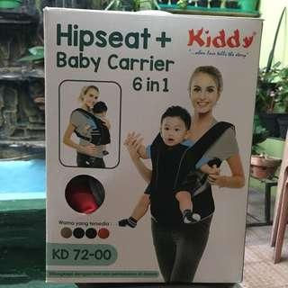 SALE - Kiddy Hipseat + Babycarrier 6in1