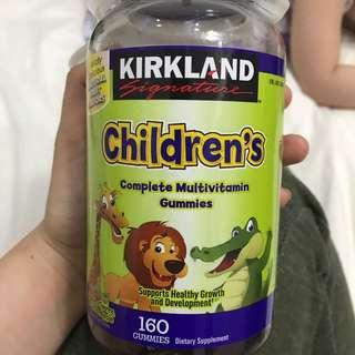 Kirkland S. Children's complete Multivitamin Gummies