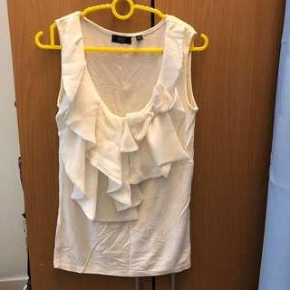 Sleeveless Chiffon Blouse Top #FEBP55 #MMAR18