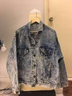 Oversized Levi's denims jacket