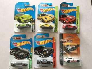 Hot Wheels Majorette 超值套裝 $88/6架