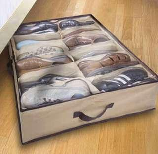 🚚 Stow Away Under Bed  Shoes Organiser - Brand New