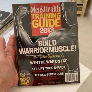 Men's Health Training Guide Build Warrior Muscles