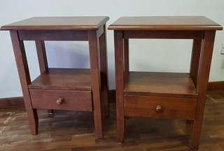 Bedside Tables (pair)