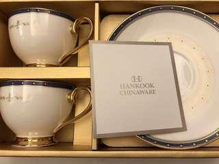 韓國總統紀念茶杯全套