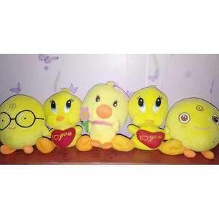 Tweety Bird & Simsimi Stuffed Toys Bundle