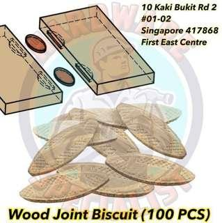 Wood Joint Biscuit (100 Pieces/Pack) For Plate Joiner