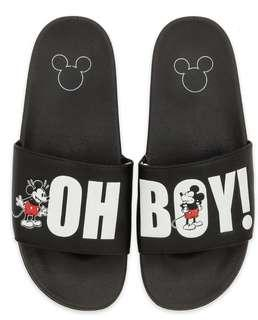 Mickey Mouse Slides for Men - Oh My Disney