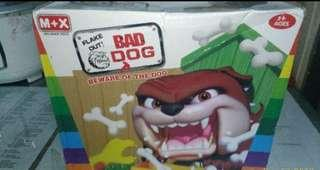 Bad dog toy