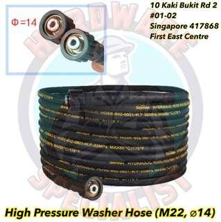 High Pressure Washer Replacement Hose (M22, ø14)