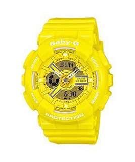 🚚 Casio Baby G Watch BA-110BC-9A