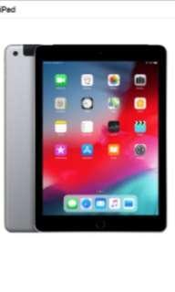 iPad 2018 - 32GB (Wifi & Cellular) 6th Generation