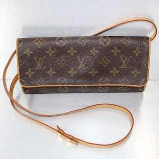LV Monogram Pochette Twin