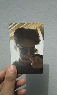 Official Photocard - SEHUN EXO Exodus