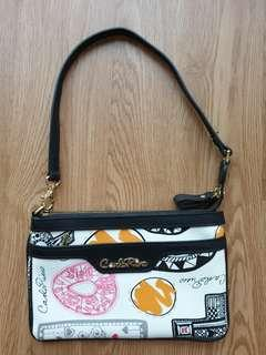 Carlo rino small handbag clutch