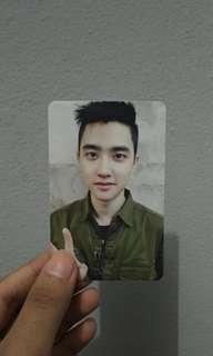 Official Photocard - D.O EXO LOTTO
