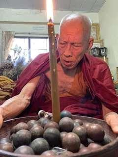 Preorder Thai amulet Rare Palaut khrau by Kruba Kham Fan BE2561