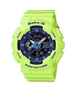 🚚 Casio Baby G Watch BA-110PP-3A