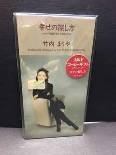 日本偶像 竹內瑪利亞 Mariya Takeuchi 全新原裝日本SCD版