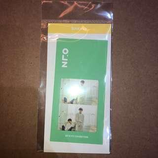 BTS 오, 늘 Exhibition Bookmark - Suga&V Ver.