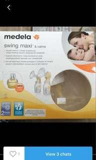 Medela double breast pump  automatic