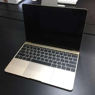 "【售】Macbook 12"" (2015) 金"