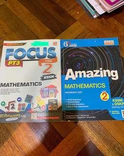 Form 2 Mathematics Reference Book Amazing and Focus PT3