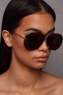 Fashionnova sunglasses silver